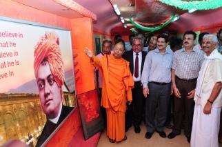 """Guests inside """"Vivek Express"""""""