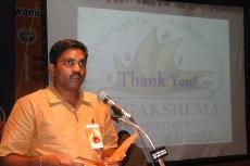 Sri Harish Achar proposes vote of thanks