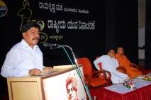 Sri Anil, Senior Regional Manager, Indian Overseas Bank addresses the gathering