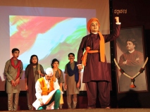 008 Drama-Navayuga Geethacharya Swami Vivekananda by Children of Bhagavad Geetha Maitri Sangha, Kaiga